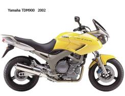 Yamaha Tdm900 в разбор