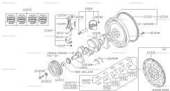 Вкладыш Nissan 12111-4M502 k