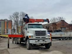 Sterling Trucks. Манипулятор Sterling LT9511, 13 000куб. см., 18 000кг., 10x6