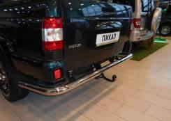 Защита заднего бампера УАЗ Патриот Пикап 3163-00-4715018-00