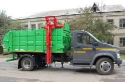 ГАЗ ГАЗон Next C41R33. Мусоровоз с боковой загрузкой МК-1451-14 на шасси ГАЗ-C41R33, 4 430куб. см.