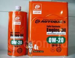 Autobacs. 0W-20, синтетическое, 1,00л.