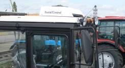 Установка кондиционеров крышных на трактора.