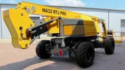 Б/У Самоходный дизельный коленчатый подъемник Haulotte HA32 RTJ