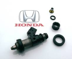 Инжектор, форсунка. Honda: HR-V, Accord, Orthia, CR-V, Torneo, S-MX, Stepwgn Двигатели: D16A, D16W1, D16W2, D16W5, 20T2N, 20TN, D16B6, D16B7, F18B2, F...
