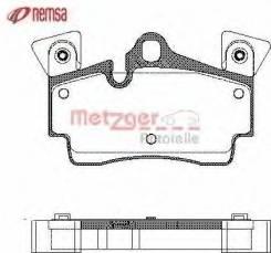 Колодки задние (В наличии) REMSA 99610