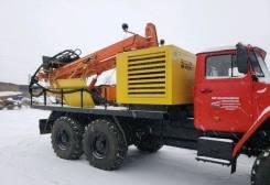 Урал 4320. Буровая установка ПБУ-2 Урал-4320 с компрессором кв 1212с (урб-2а2)