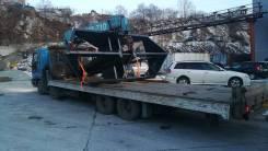 Услуги грузовиков с краном во владивостоке. Негабарит