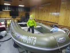 Продам лодку Кайман с мотором Tohatsu 9.8 или Yamaha 9,9