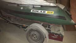 Лодка Solar-310 с телегой