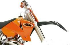 Боковины бака КТМ SX 85 оранжевые
