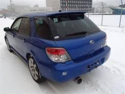 Спойлер багажника. Subaru Impreza WRX, GG, GGA, GGB