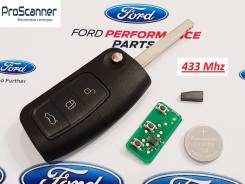 Ключ зажигания (434 Mhz) Ford Focus, Mondeo 4, Fiesta, S Max в сборе