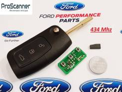 Ключ зажигания (434 Mhz) Ford Focus 2, Mondeo 3 в сборе