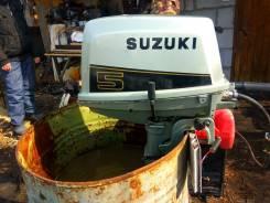 Продам лодочный мотор suzuki dt5