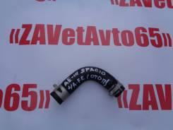Патрубок отопителя, системы отопления. Toyota Corolla Spacio, AE111, AE111N