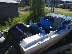 Продам катер Амур с мотором Mercury 150