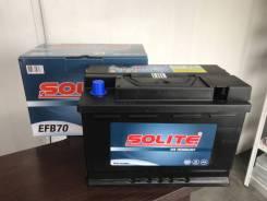 Аккумулятор Solite EFB70 N70 E45(Евро) 70а/ч 680а Start-STOP L3