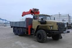 Аренда крана - манипулятора КМУ на базе Урал