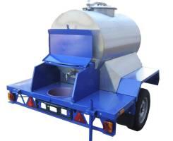 Цистерна для молока (автобочка) 450л