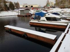 Аренда боны места для лодки катера красноярское море