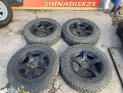 "185/85R16 M/T на чёрном Литье Suzuki Jimny R16 5.5j 20 5/139.7. 5.5x16"" 5x139.70 ET20"
