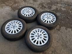 """Летние колёса Toyota Noah 195/65R15 Dunlop Enasave оригинал. 6.0x15"""" 5x114.30 ET50"""