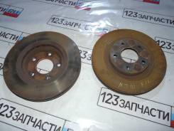 Диски тормозные передние ( ПАРА ) Nissan Qashqai NJ10 2007 г