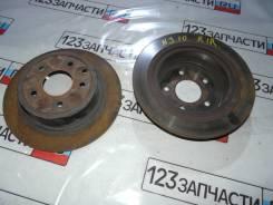 Диски тормозные задние (ПАРА) Nissan Qashqai NJ10