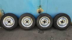 """Продам комплект колес с летней резиной 165R13LT. x13"""" 4x100.00"""