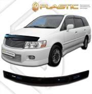 Дефлектор капота. Nissan Bassara, JHU30, JNU30, JTNU30, JTU30, JU30, JVNU30, JVU30 Двигатели: KA24DE, QR25DE, VQ30DE, YD25DDTI, CA16S, CA18DT
