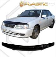 Дефлектор капота. Nissan Bluebird, ENU14, EU14, HNU14, HU14, QU14, SU14 CD20, CD20E, QG18DD, QG18DE, SR18DE, SR20DE, SR20VE, CA16S, CA18D, CA18DE, CA1...