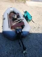 Продам лодку, Агул с поелами и мотором ханкай 3.5