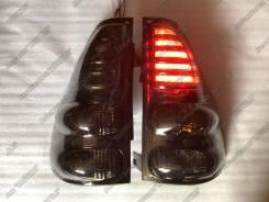 LED Стопы Toyota Prado 120 (Прадо 2003-09) в стиле Lexus Eagle Eyes