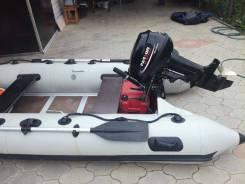 Продаётся моторная лодка Лидер340 . мотор-Парсун15л. с. 4х-местная