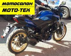 Мотоцикл Bajaj Dominar 400 ABS, LED, синий, дилер МОТО-ТЕХ, Томс, 2020