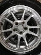 """Продам комплект литья Bridgestone ECO Forme с резиной из Японии! Без пр. 6.0x15"""" 5x100.00 ET-45 ЦО 66,0мм."""