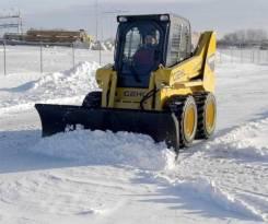 Отвал снеговой 2000 мм для минипогрузчиков