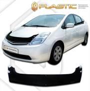 Дефлектор капота Toyota Prius Правый руль NHW20 2003-2011 (Мухобойка)