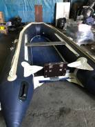 "Лодка ""Солар-400"" в комплекте с мотором ""Suzuki"" 30 с водометом"