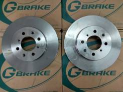 Диск тормозной. Honda: Ballade, CR-X del Sol, Airwave, Civic, Mobilio Spike, CR-X, Insight, Civic CRX, Civic Ferio, Domani, Freed, Jazz, Mobilio, Orth...