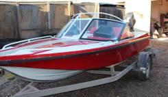 Моторная лодка Yamaha 60 катер на прицепе