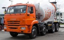 Автобетоносмеситель 5814Y9 на шасси КАМАЗ 6540-3028-48 (Евро-5), 2020