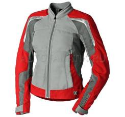 Мотокуртка жен. р.52 BMW Motorrad AirFlow Jacket Gray/Red (76138548115)