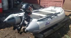 Продам надувную моторную лодку с мотором suzuki. Состояние новой
