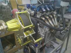 Редуктор для аэролодки ВМУ хонда Л15 и винт ВК-5-4 лоп ф 1820 мм