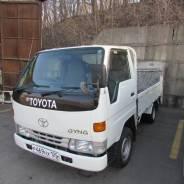 Toyota Dyna. Бортовой грузовик DYNA 1998г. в. с аппарелью, хорошее состояние., 2 800куб. см., 1 500кг., 4x2