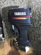 Yamaha. 50,00л.с., 2-тактный, бензиновый, нога L (508 мм), 2000 год