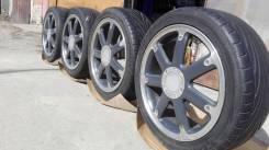 "Диски Subaru Design by F. A Porsche на лете 215/45ZR17. 7.0x17"" 5x100.00 ET55 ЦО 56,0мм."