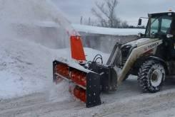 Новые снегоочистители для экскаваторов-погрузчиков